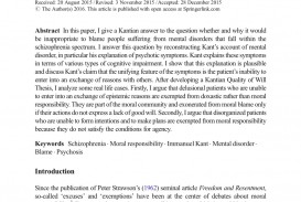004 Essay Example Schizophrenia Shocking Outline Title Conclusion