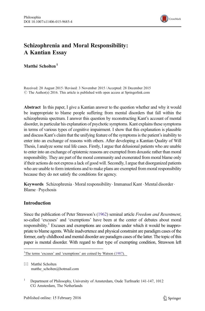 004 Essay Example Schizophrenia Shocking Topics Free Conclusion Full