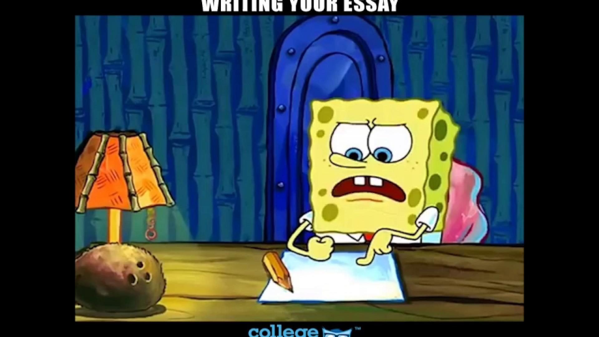 004 Essay Example Spongebob Meme Stirring Generator Font 1920