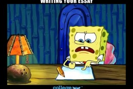 004 Essay Example Spongebob Meme Stirring Generator Font