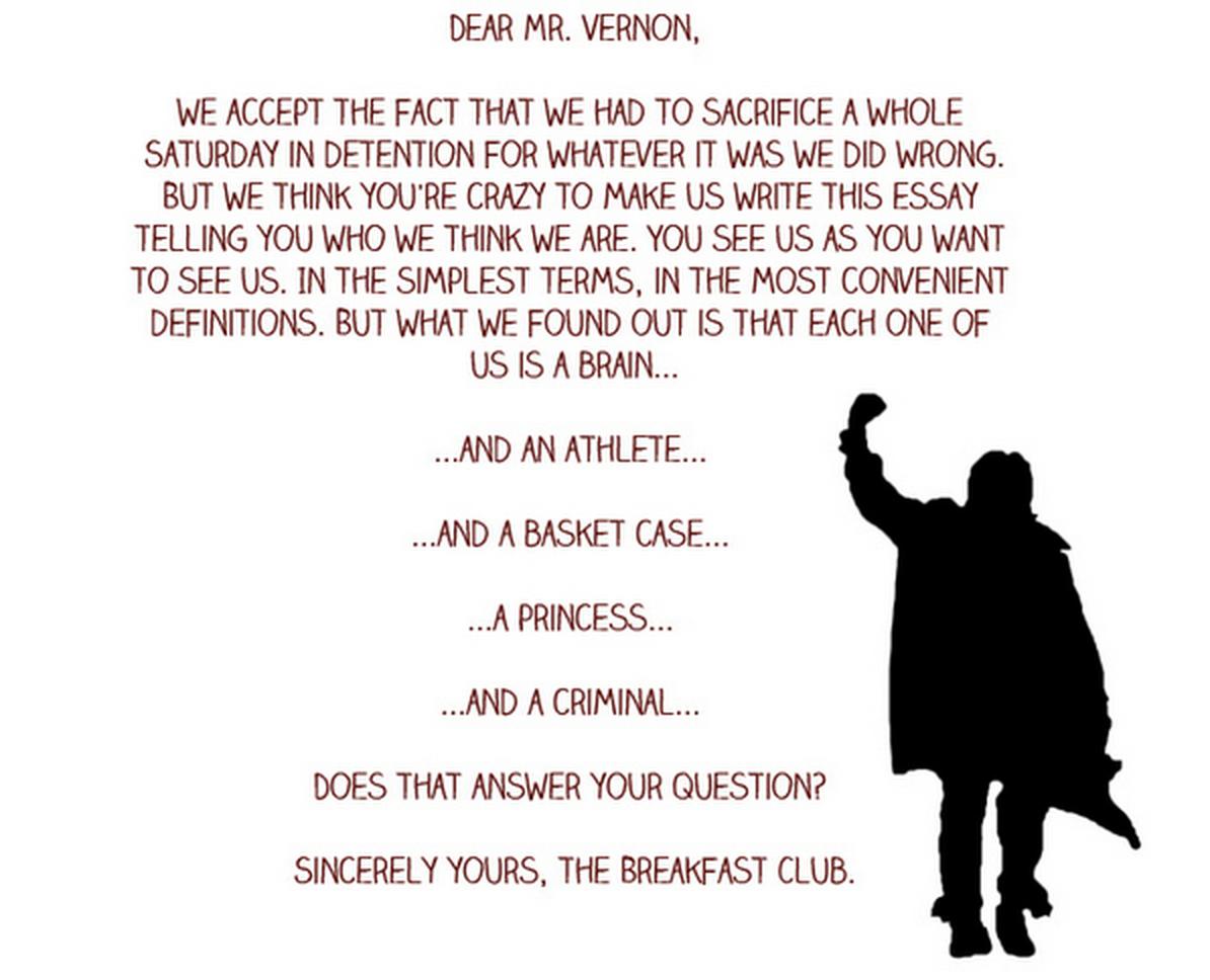 004 Essay Example The Breakfast Breathtaking Club Scene Introduction Analysis Full