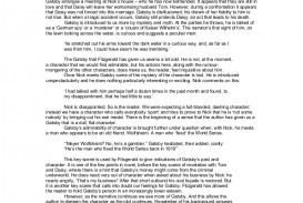 004 Essay Example Thegreatgatsby Essayoncharacter Phpapp01 Thumbnail The Great Gatsby Stirring Themes Money Theme American Dream