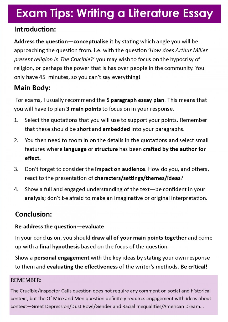 004 Essay Example Tips Writing Awesome For Middle School College Students