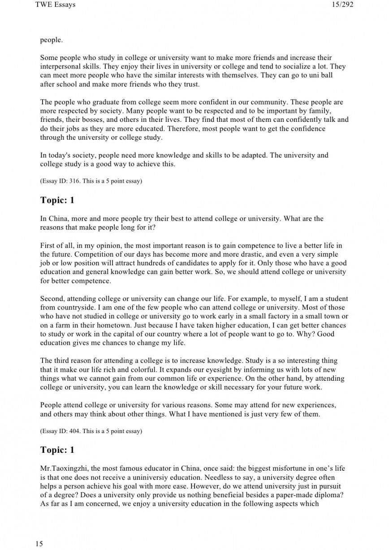 004 Essay Example Toefl Fantastic Topics Pdf Template Prompts