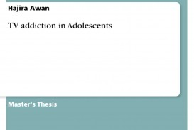 004 Essay Example Tv Addiction For Bsc 286671 0 Beautiful