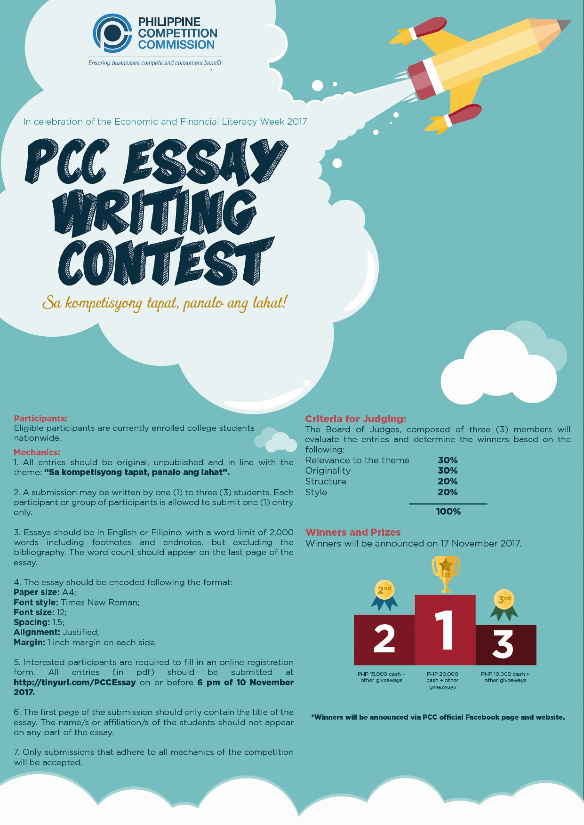004 Essay Example Writing Contest Poster Final Incredible Free Contests 2018 International Competitions For High School Students India 1920