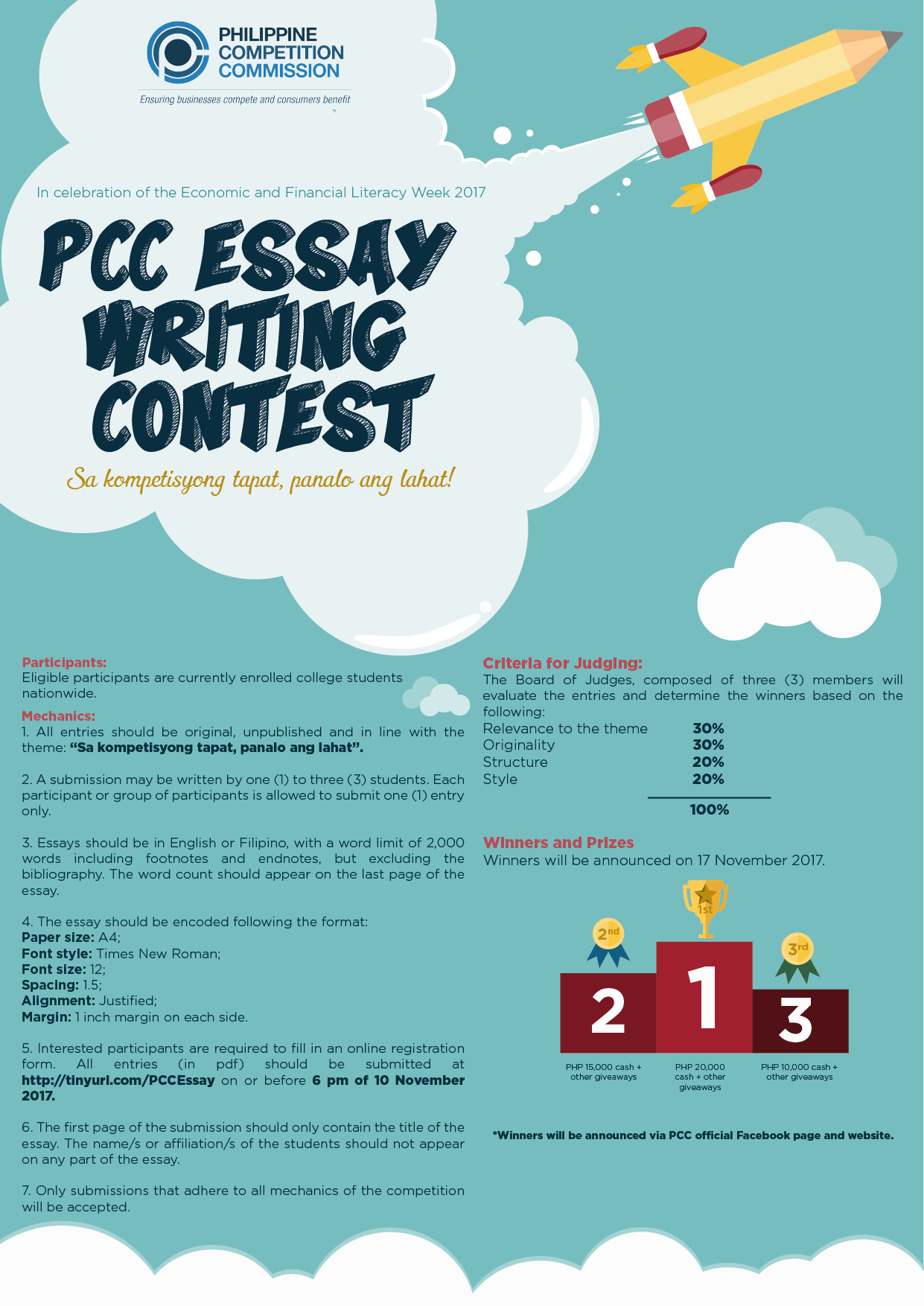 004 Essay Example Writing Contest Poster Final Incredible Competition For College Students By Essayhub Sample Mechanics Full