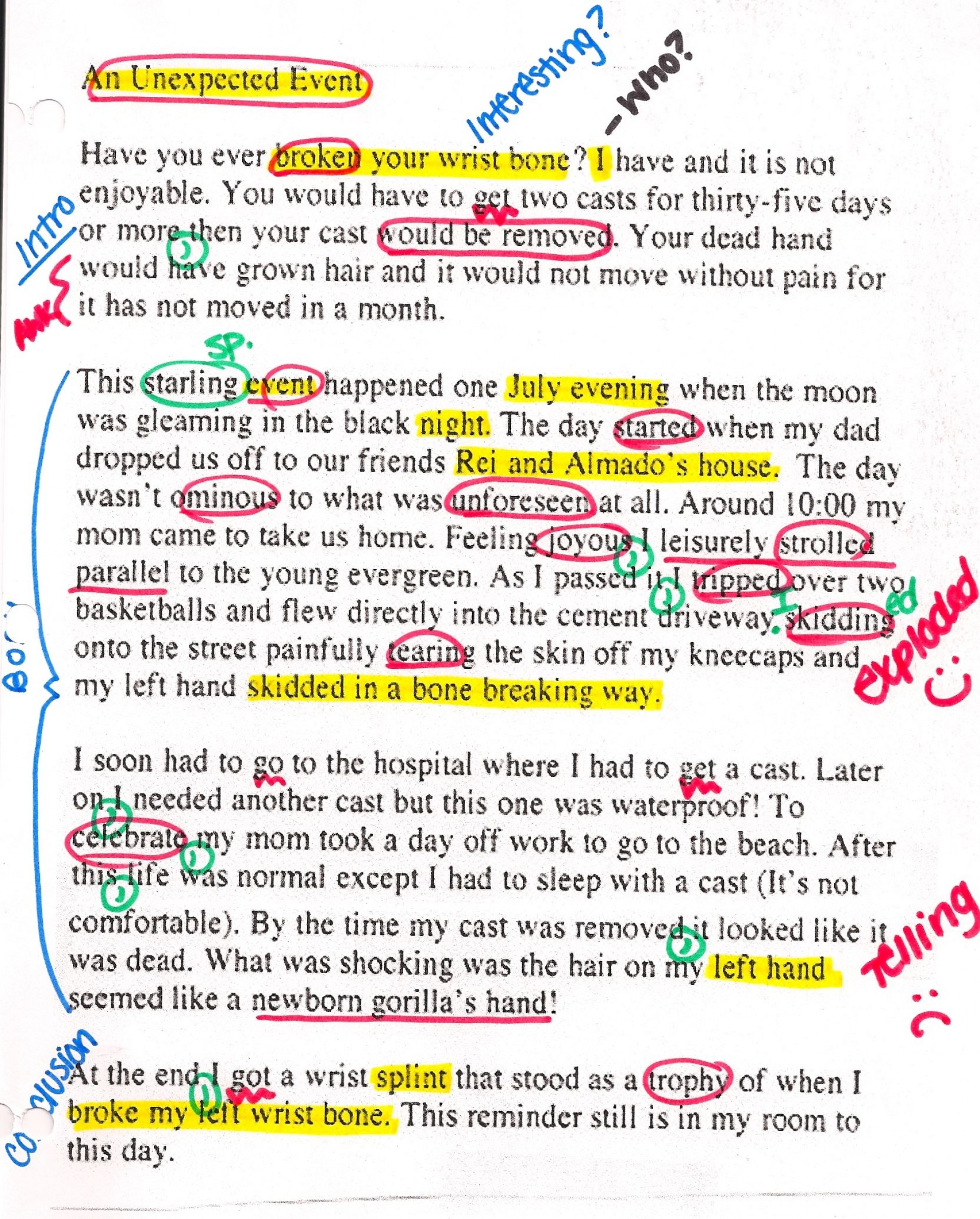 004 Essay Example Writing Examples Formidable For Class 7 Narrative Pdf Format In English 1920