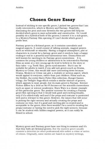 essay genren engelsk