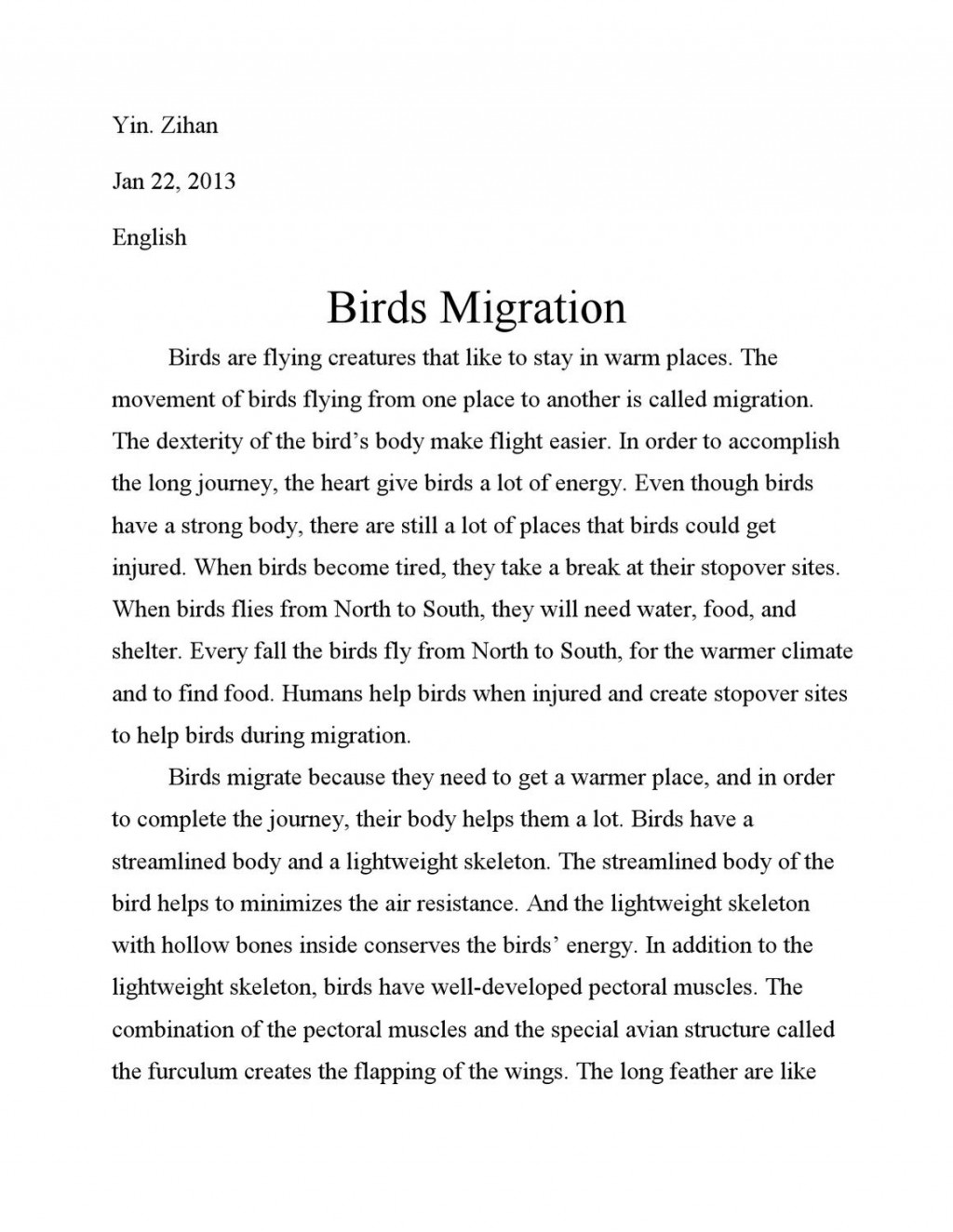 004 Essay On Birds Page 1 Incredible Nest In Telugu Kannada And Animals Large