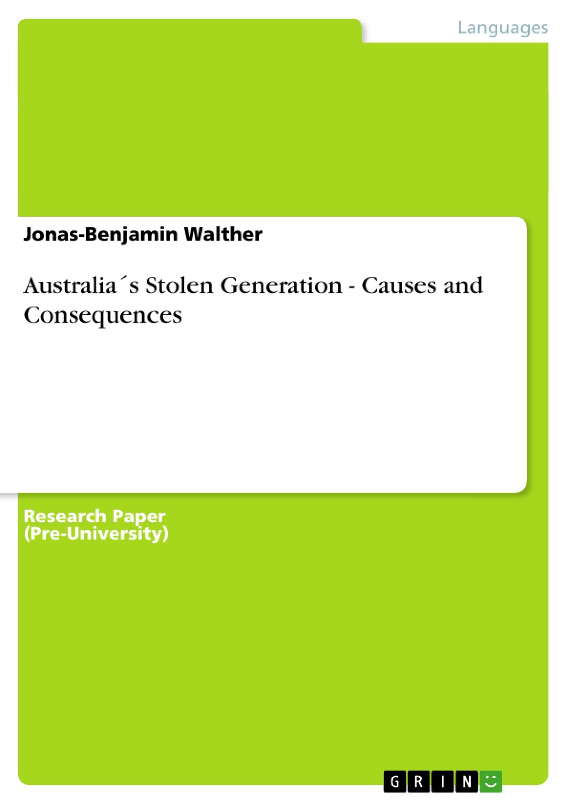 004 Essay On The Stolen Generation 106643 0 Singular Questions Indigenous Studies Reflection Full