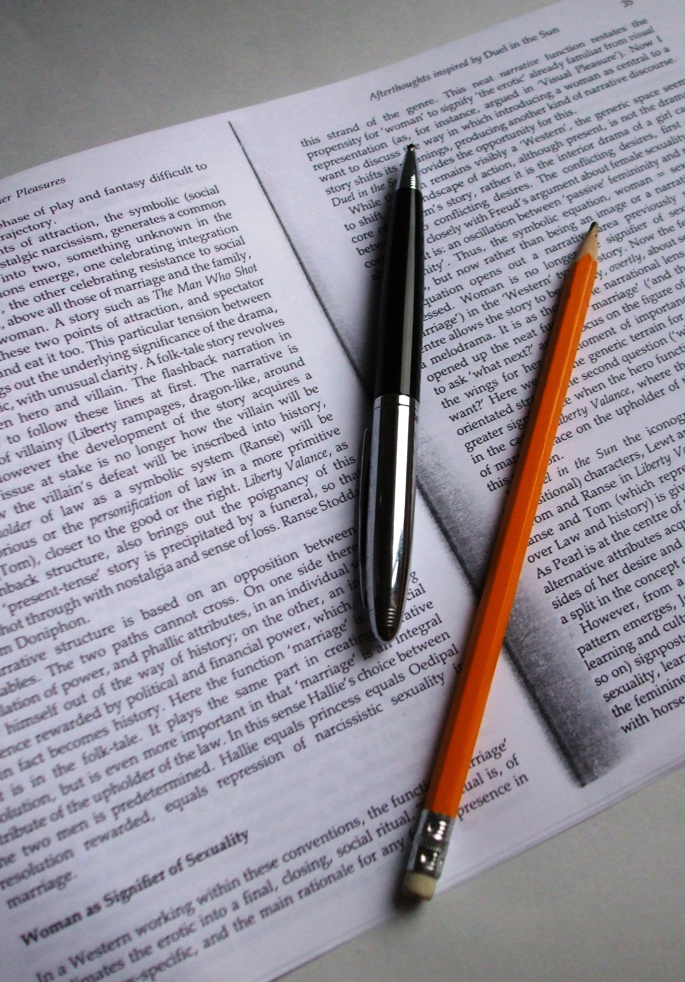 Writting tips