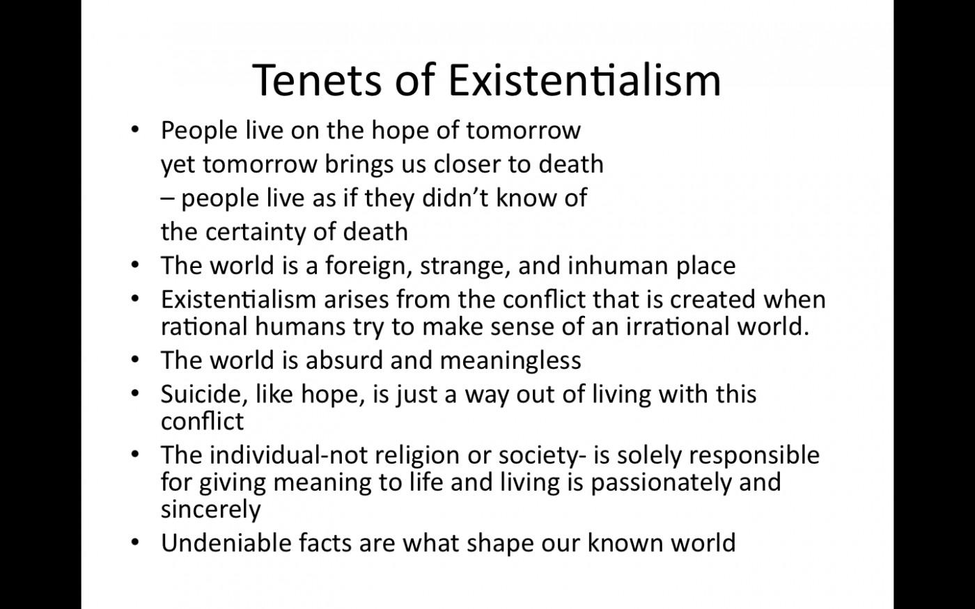004 Essays In Existentialism Essay Example Tenets Of Outstanding Sartre Tumblr Clarke Lexa 1400