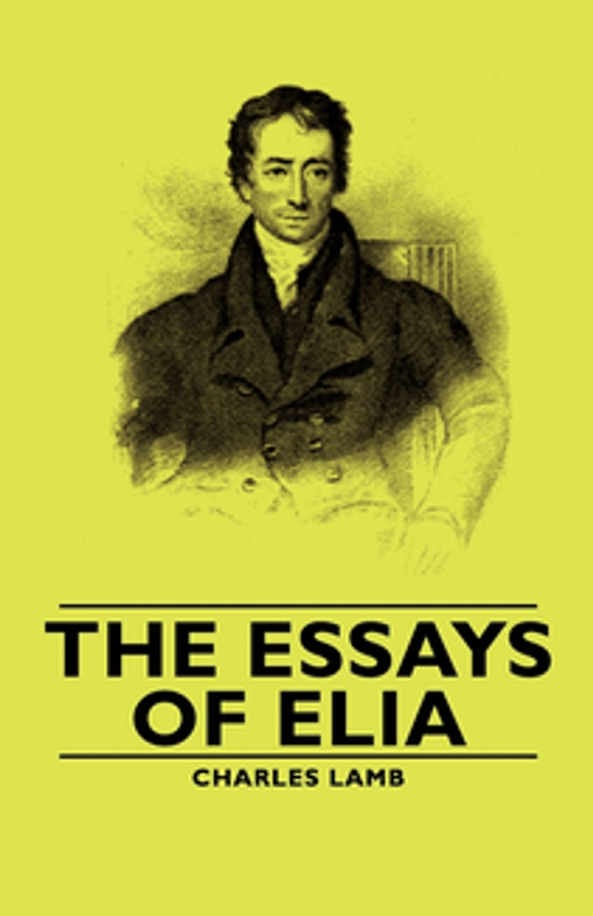 004 Essays Of Elia Essay Example Striking Epub Summary Text Pdf 1920
