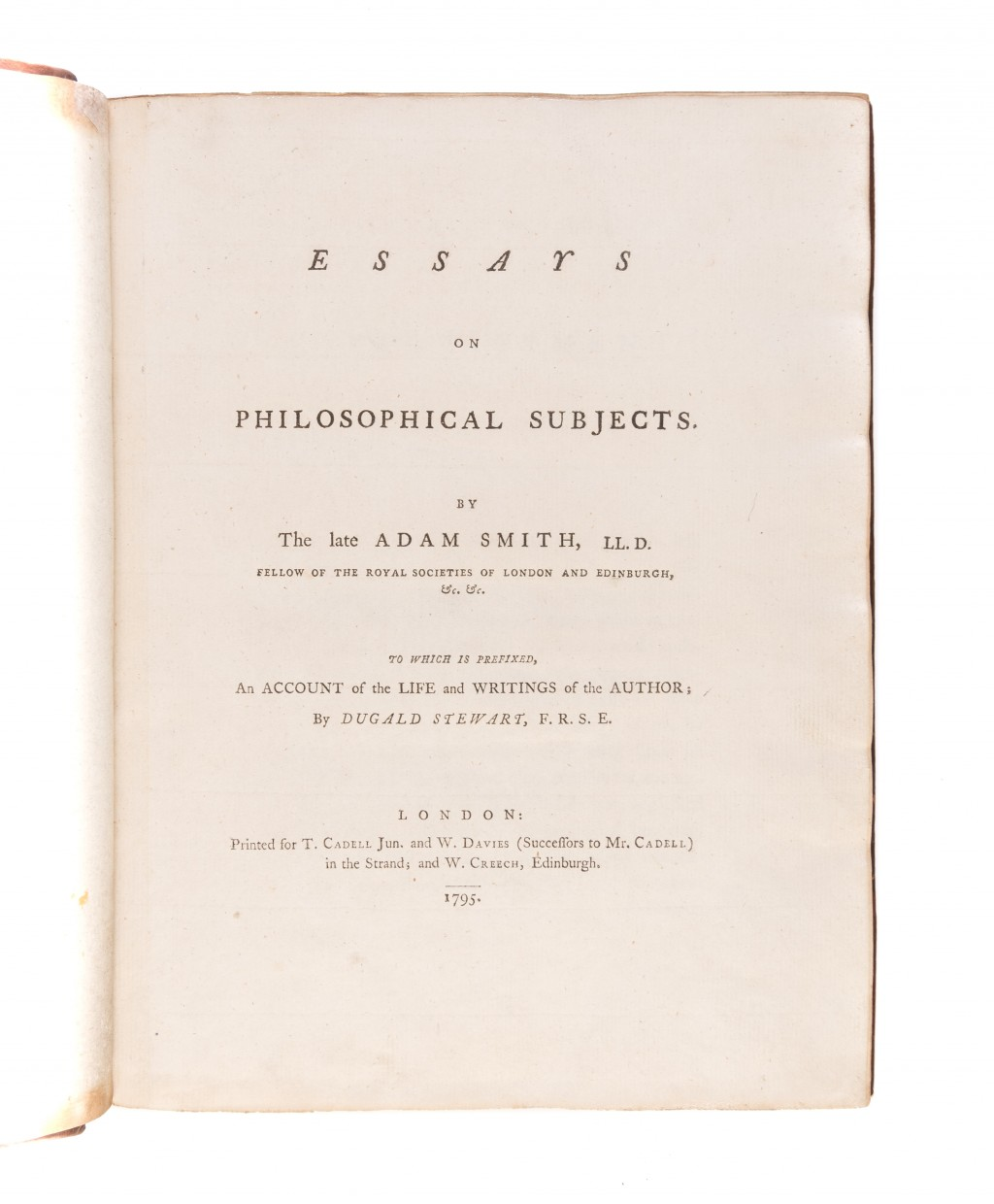 004 Essays On Philosophical Subjects 55036 01 Essay Best Summary Adam Smith Large