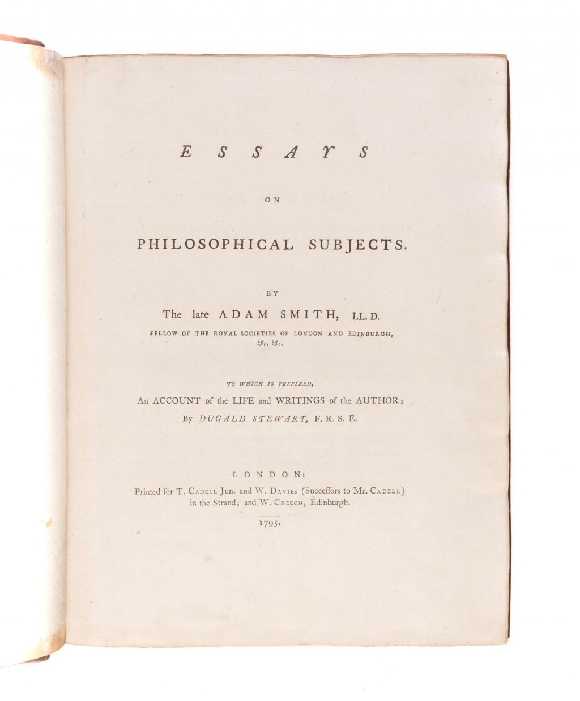 004 Essays On Philosophical Subjects 55036 01 Essay Best Smith Pdf Large