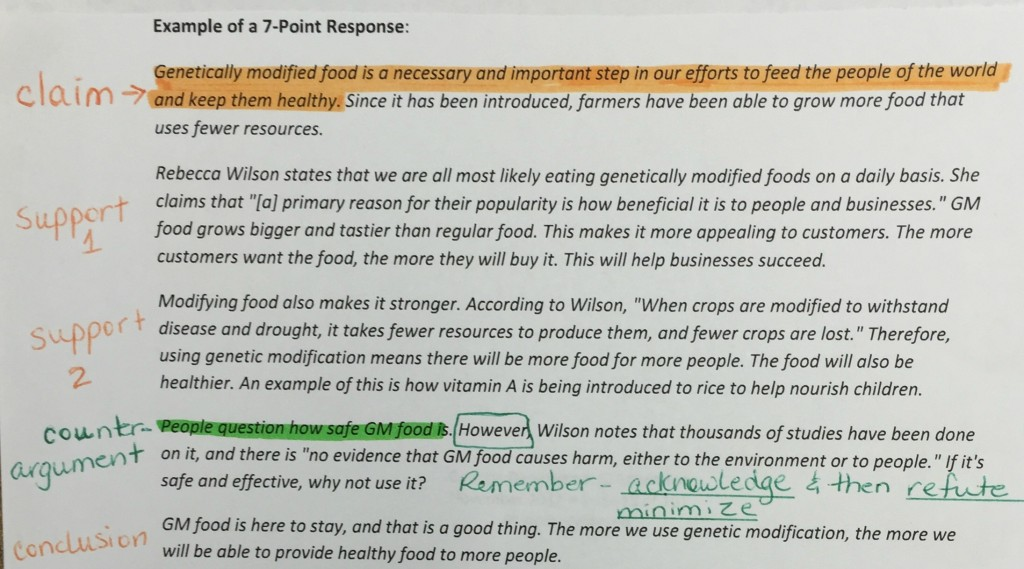 004 Genetically Modified Food Essay Gmo Response Example Staggering Title Pdf Crops Ielts Large