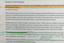 004 Genetically Modified Food Essay Gmo Response Example Staggering Title Pdf Crops Ielts