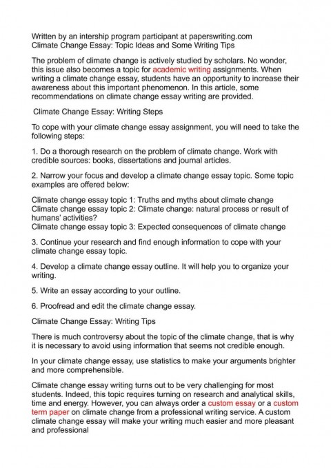 004 Global Climate Change Essay Warming And How To Write An Abo Argumentative On Persuasive Study Mode About Good Paper 1048x1483 Awesome High School In English 150 Words Kenya Art Competition 2018 480