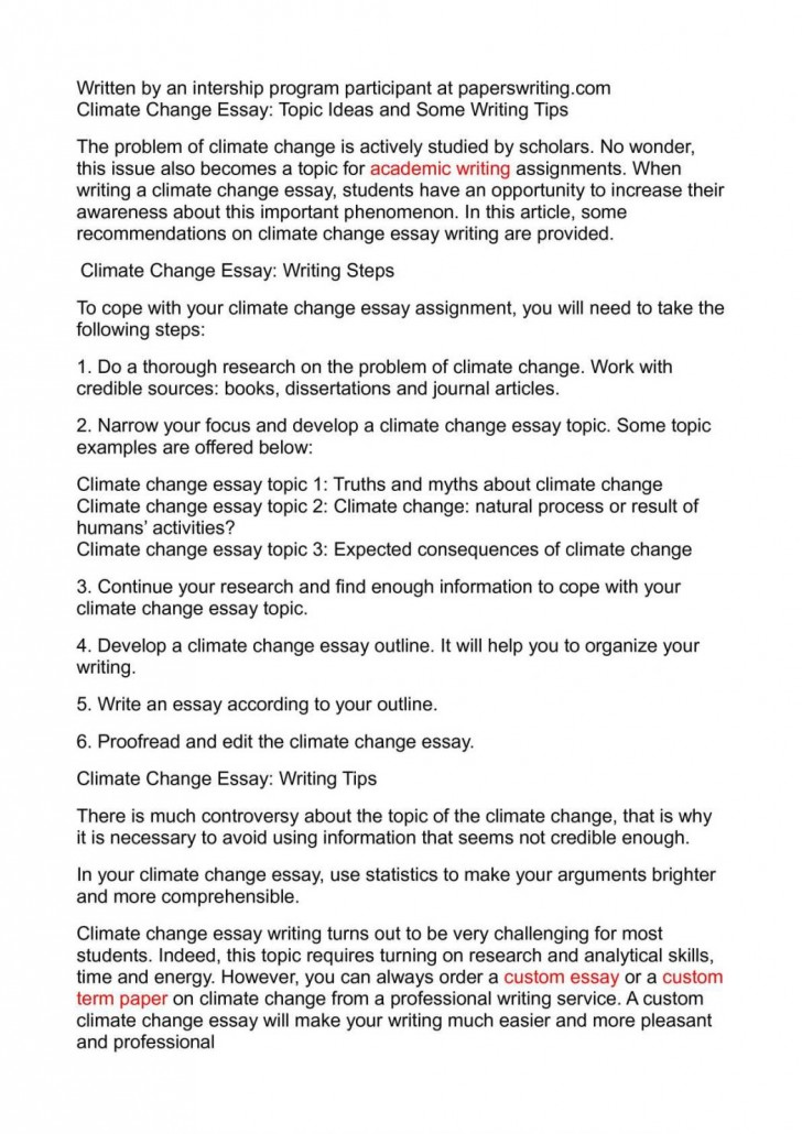 004 Global Climate Change Essay Warming And How To Write An Abo Argumentative On Persuasive Study Mode About Good Paper 1048x1483 Awesome High School In English 150 Words Kenya Art Competition 2018 728