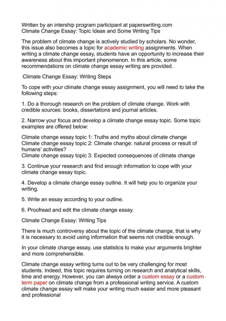 004 Global Climate Change Essay Warming And How To Write An Abo Argumentative On Persuasive Study Mode About Good Paper 1048x1483 Awesome High School In English 150 Words Kenya Art Competition 2018 960