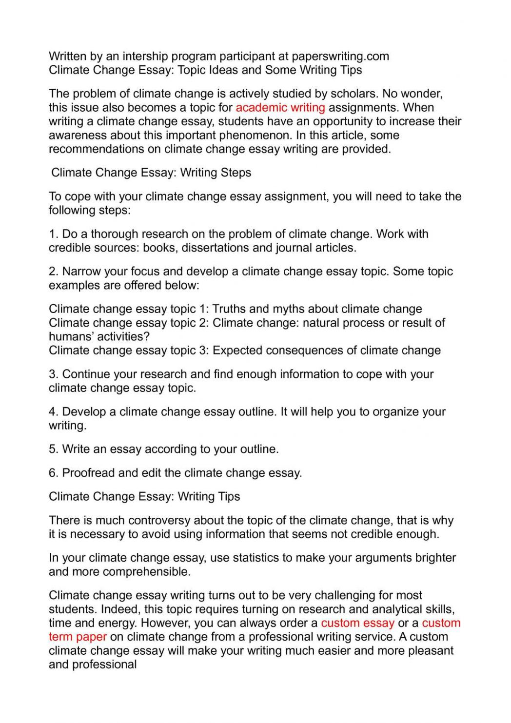004 Global Climate Change Essay Warming And How To Write An Abo Argumentative On Persuasive Study Mode About Good Paper 1048x1483 Awesome High School In English 150 Words Kenya Art Competition 2018 Full