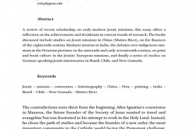 004 Historiographical Essay Example Jesuit Foreign Missions  58d38df8ee3435de0e6e4ab7 Phenomenal Historiography Sample On Slavery Topics