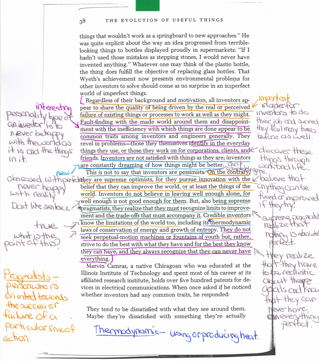 004 How To Annotate An Essay Example Student Annotations Color Wondrous A Movie In Critical Large
