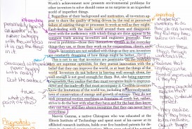 004 How To Annotate An Essay Example Student Annotations Color Wondrous A Movie In Critical