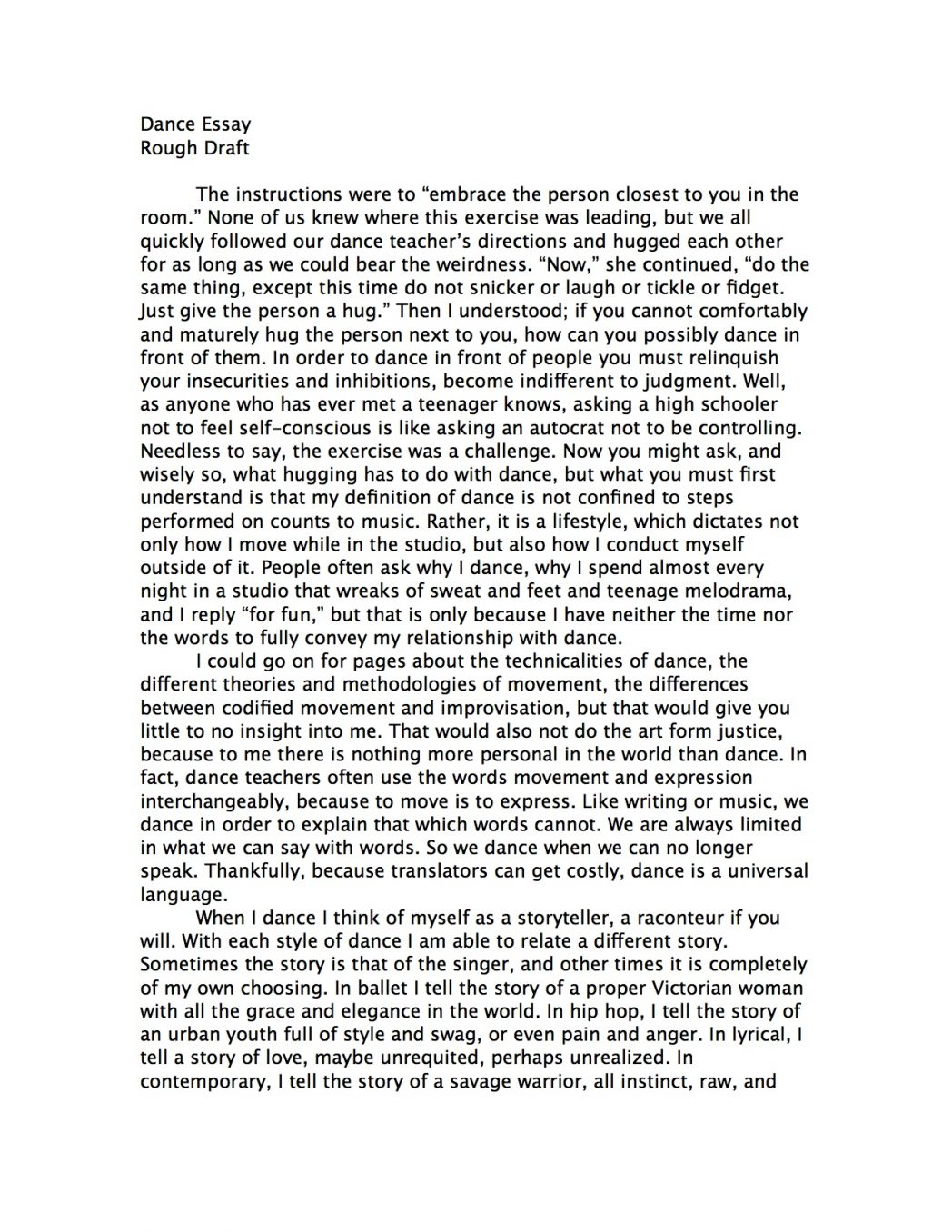 004 How To Start An Essay For College Example Business Entrance Essays Examples About Yourself Rebecca Nueman Dance Writing Scholarship Prompt Your Background With Stupendous Write Autobiography Scholarships Full