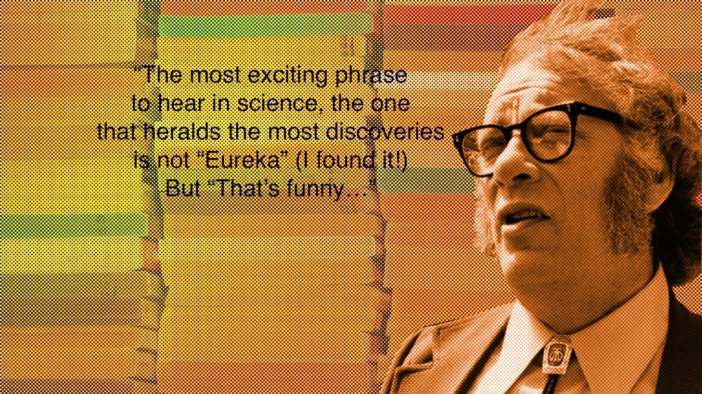 004 Isaac Asimov2w1250 Asimov Essays Essay Awful On Creativity Intelligence Large