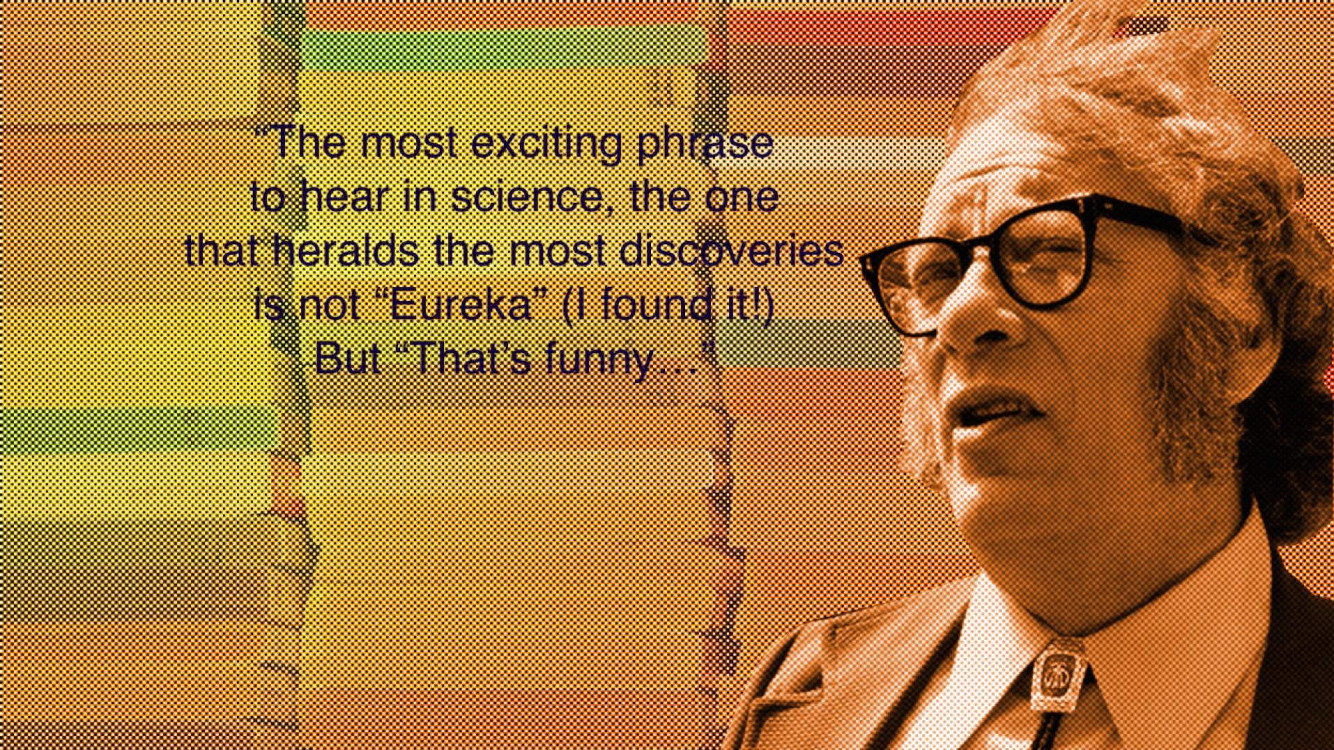 004 Isaac Asimov2w1250 Asimov Essays Essay Awful On Creativity Intelligence 1920