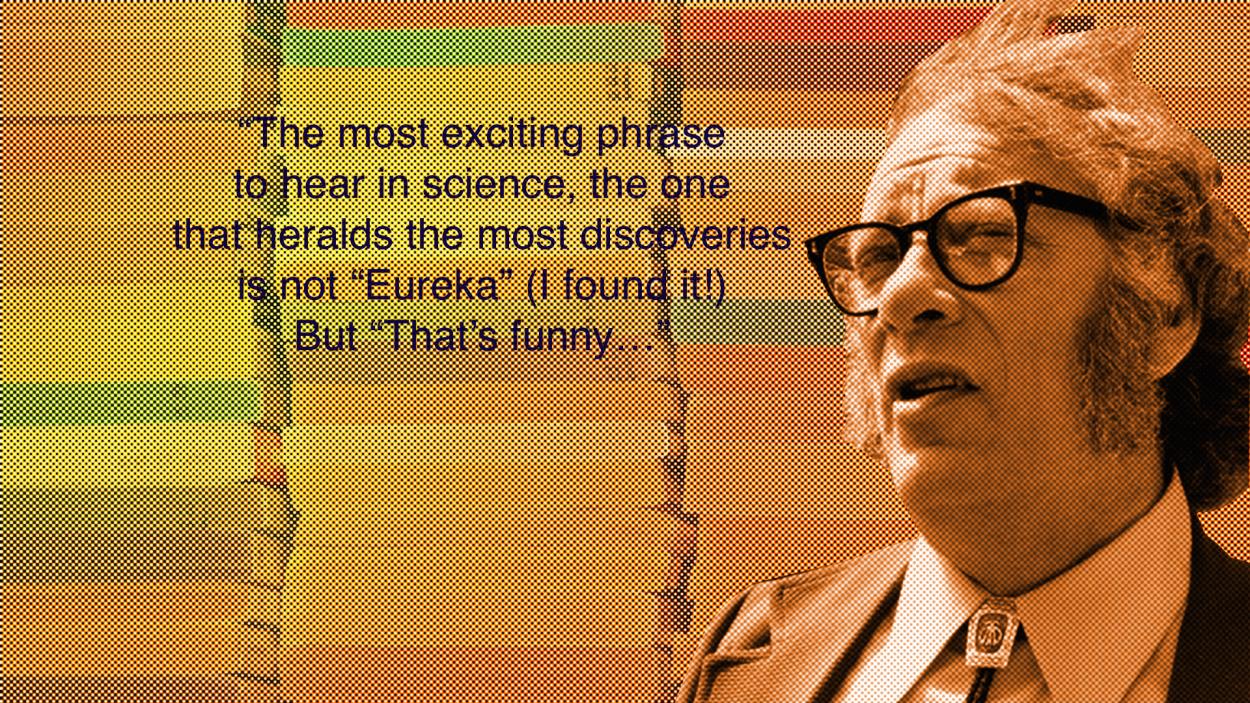 004 Isaac Asimov2w1250 Asimov Essays Essay Awful On Creativity Intelligence Full