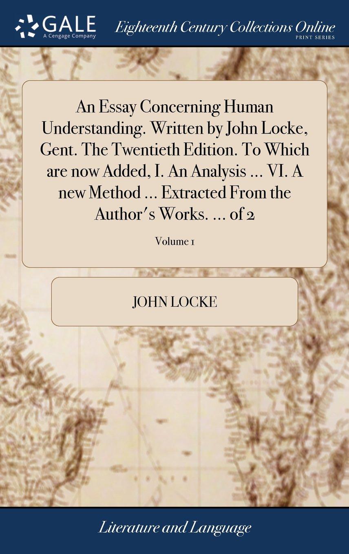 004 John Locke Essay Example Impressive Concerning Human Understanding Book 4 On Pdf Summary Full