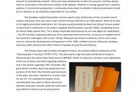 004 Largepreview Essay Example Why Marijuanas Should Frightening Be Illegal Medical Argumentative