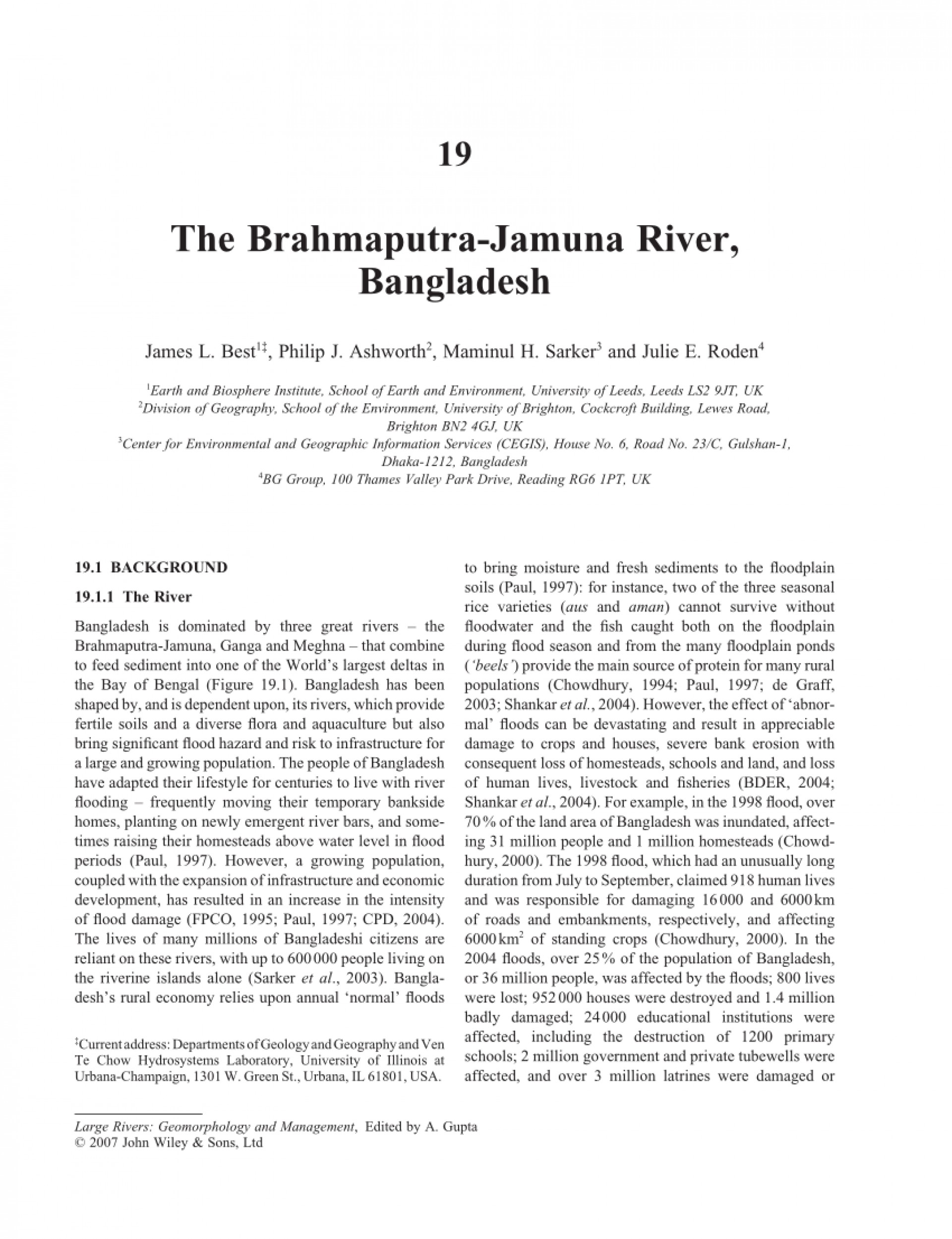 004 Largepreview Essay On Rivers Of Bangladesh Breathtaking Importance In 1920