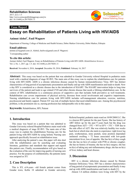 004 Largepreview Hiv Essay Phenomenal Aids Conclusion Pdf Hiv/aids Topics Large