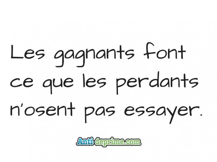 004 Les Gagnants Font Que Perdants Essay Example Impressive Essayer French Verb Conjugation Definition Synonymes In English 728