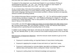 004 Literacy Narrative Essay Example Literary Literature Essays Free Titles Assignment Outline Examples Definition On Reading And Phenomenal Personal Sample Digital