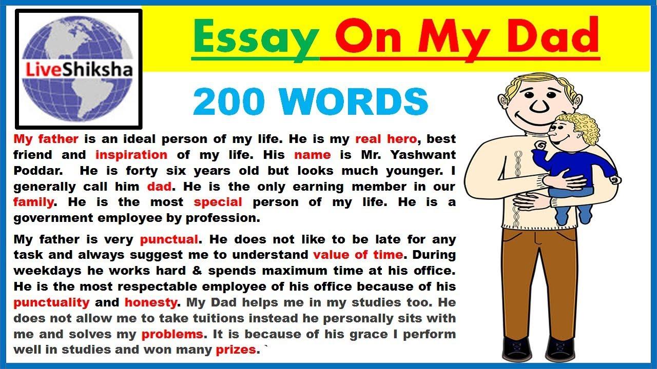 004 Maxresdefault Essay Example My Father Unusual Hero Parents Superhero Full