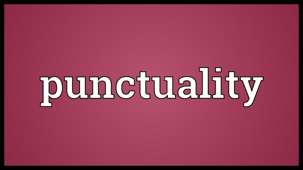 004 Maxresdefault Essay Example On Punctuality And Stunning Discipline Large