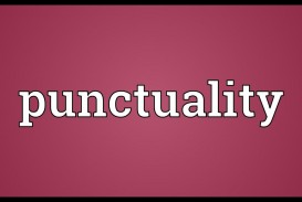 004 Maxresdefault Essay Example On Punctuality And Stunning Discipline