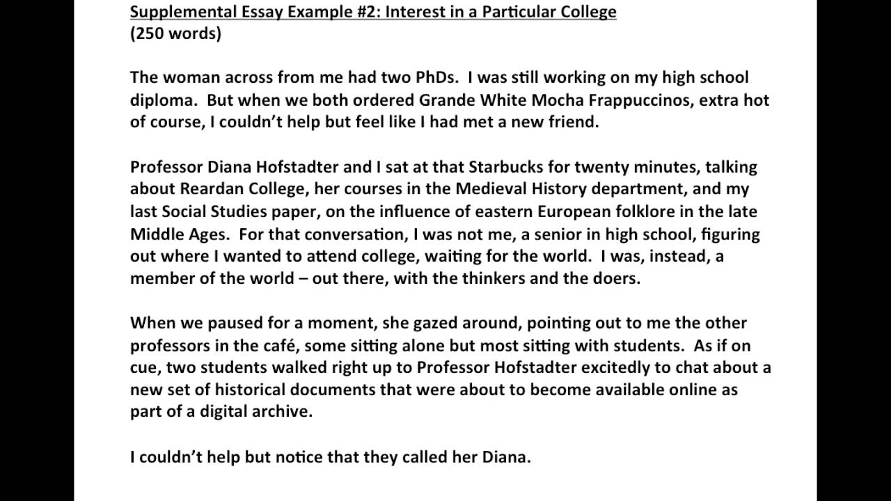 004 Maxresdefault Essay Example Remarkable Supplemental Harvard Examples Full