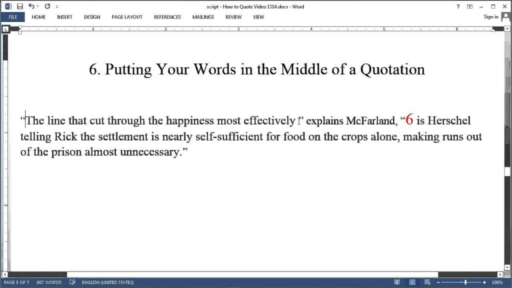004 Maxresdefault How To Put Quotes In An Essay Remarkable A Quote Apa Format Large