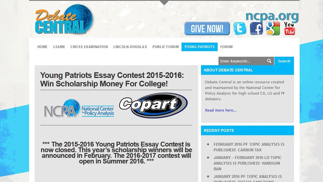 004 Maxresdefault Young Patriots Essay Contest Surprising Full