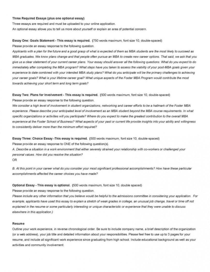004 Mba Washington University 2resize8002c1035 Essay Example How Long Is Dreaded A 750 Word 500-750 Should Be Many Paragraphs