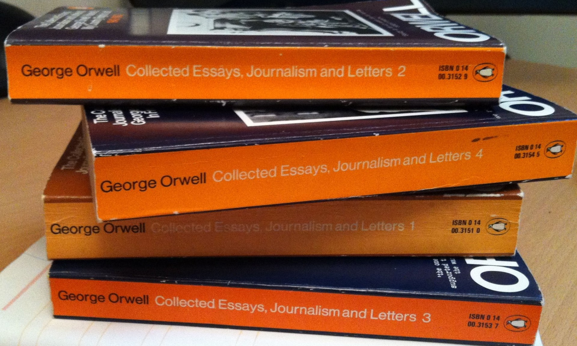 004 Orwell Essays Essay Example Singular Amazon Pdf Epub 1920