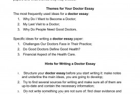 004 P1 Essay Example About Impressive Doctor In Tamil Language Become A