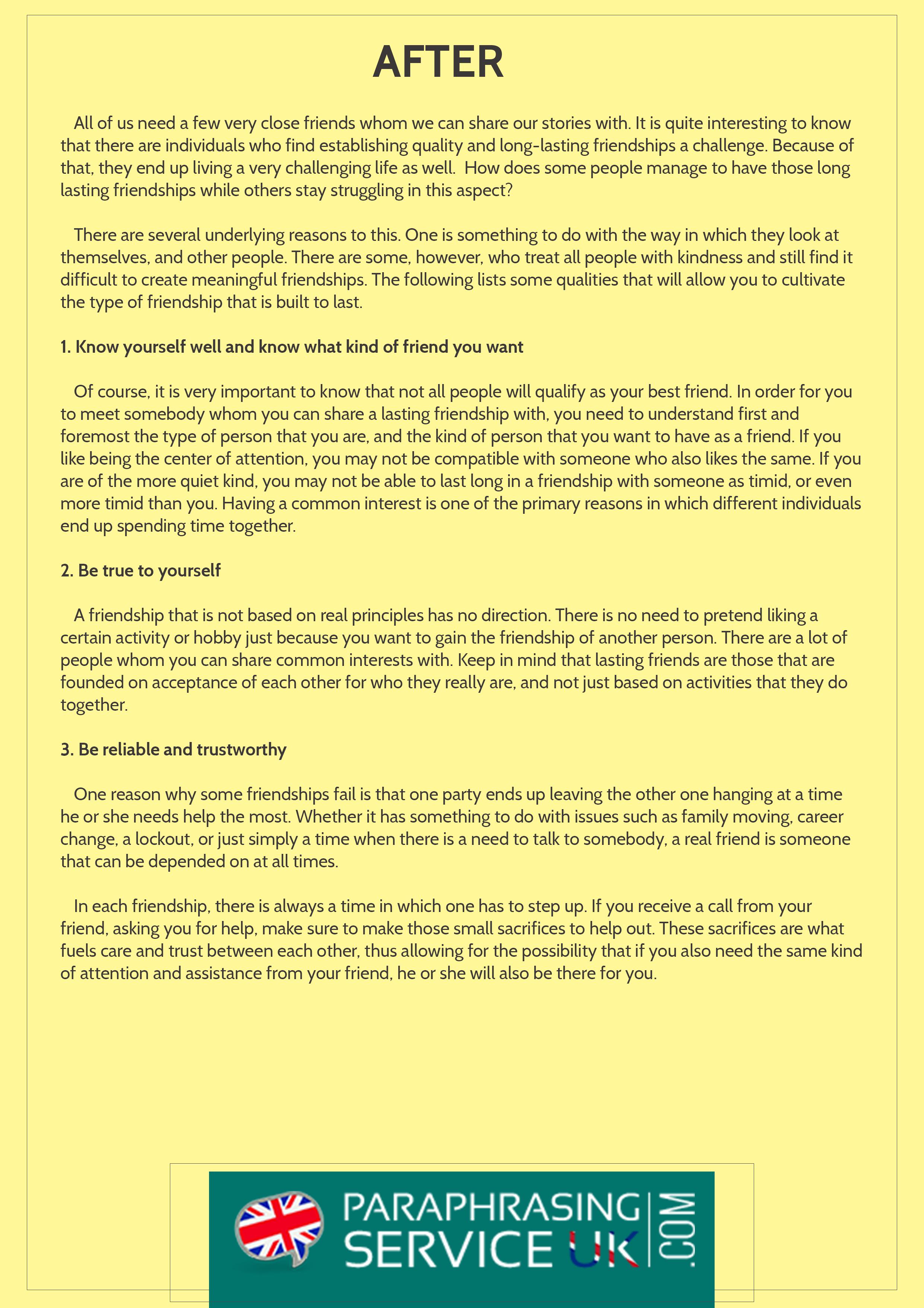 004 Paraphrased Essay Sample Example Amazing Reword Generator Free Full