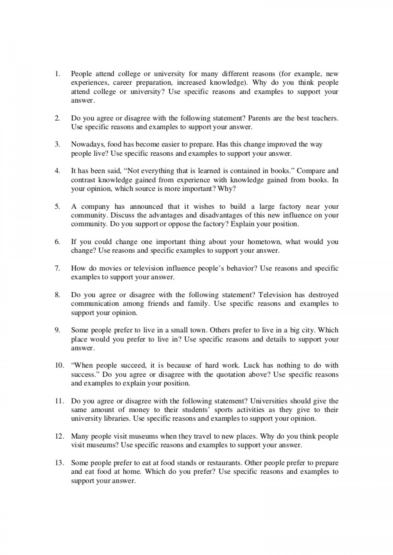 004 Pdftoefl185indepwritingquestions Phpapp02 Thumbnail Hard Work Essay Wonderful Pdf Pays Off In Hindi Writing 1920